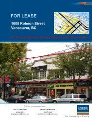 FoR LeaSe - Colliers International