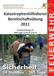 KHD- Uebung Pressemappe - BFKDO Tulln