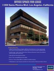 11050 Santa Monica Flyer v1 11_28_06.pdf - Colliers International