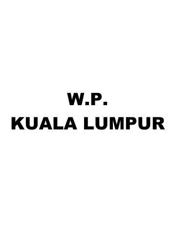 W.P. KUALA LUMPUR - JKM