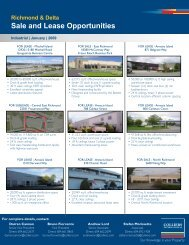 Sale and Lease Opportunities - Colliers International