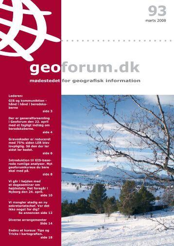 93 geoforum.dk - GeoForum Danmark