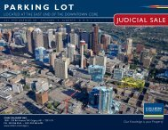 parking lot for sale - Colliers International