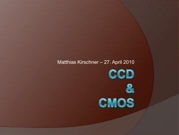 CCD- und CMOS-Sensor