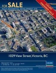 1029 View Street, Victoria, BC - Colliers International