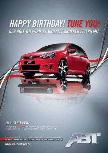 happy birthday! tune you!