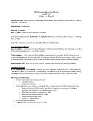 SDLN Executive Committee Minutes May 18, 2011 9:00am – 11 ...