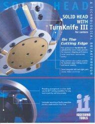 download pdf brochure - Iggesund Tools Inc