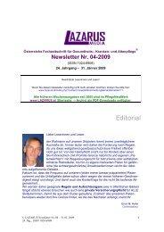 Lazarus Nr. 4 - Nurse-Communication