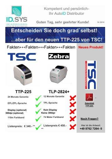 Entscheiden Sie doch grad`selbst! ...aber für den ... - ID.SYS GmbH