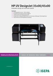 HP UV DesignJet 35x00/45x00