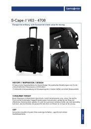 Download PDF SAMSONITE S-Cape Promotion Angebot