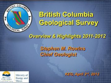 British Columbia Geological Survey