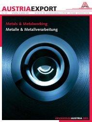 Metalle & Metallverarbeitung, Austria Export Nr 135