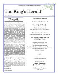 The King's Herald