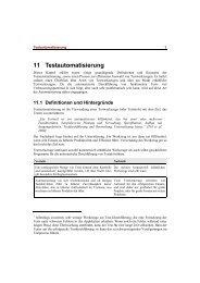 11 Testautomatisierung - Quality Software Engineering (QSE ...