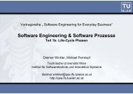 Software Engineering & Software Prozesse - Quality Software ...