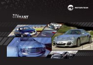 Download Factsheet Made in Germany (PDF) - MOTORVISION Group