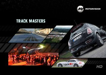 Download Factsheet Track Masters (PDF) - MOTORVISION Group