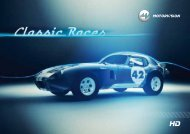 Download Factsheet Classic Races - MOTORVISION Group