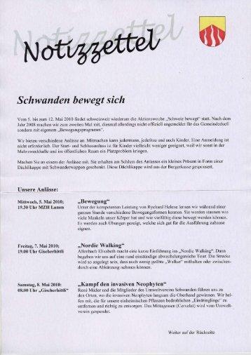 """""""Notizzettel"""" Gemeinde Schwanden (514.67 KB)"""