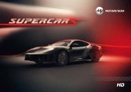 Download Factsheet Supercars (PDF) - MOTORVISION Group