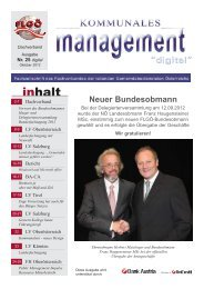 """Kommunales Management"" NR. 25 - flgt"