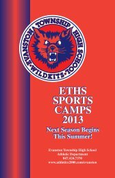 Sports Camps - Evanston Township High School | District 202