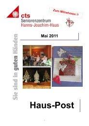 Hauszeitung HJH Mai 2011 neu. - Caritas  Seniorenzentrum Hanns ...