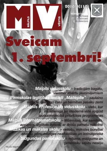 Nr.8 (112) Augusts - Mālpils