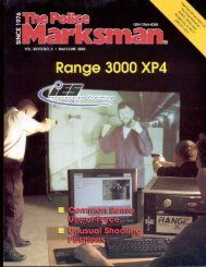 Police Marksman Mag Article - Strategos International