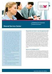 Shared Service Center - IDS Scheer AG