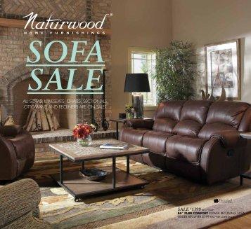 Sofa Sale - Naturwood