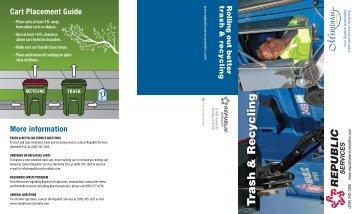 T rash & Recycling - City of Meridian
