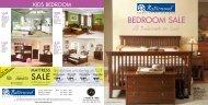 Bedroom Sale All Bedrooms on Sale* Sale - Naturwood