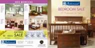 Bedroom Sale All Bedrooms on Sale* Sale - Naturwood