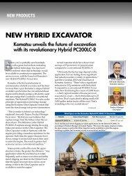 NEW HYBRID EXCAVATOR