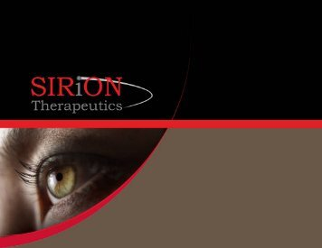 Sirion - Ophthalmology Innovation Summit