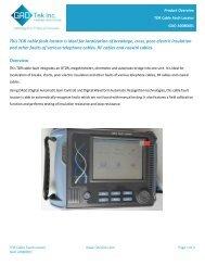 TDR Cable Fault Locator GAO A0080001 - GAO Tek Inc.