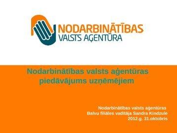 Nodarbinātības valsts aģentūra - Balvi