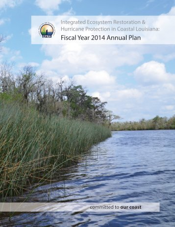 Fiscal Year 2014 Annual Plan - Coastal Protection and Restoration ...