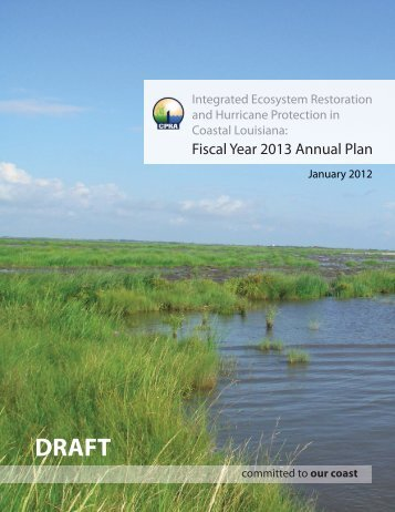 Annual Plan - Coastal Protection and Restoration Authority
