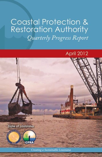 Coastal Protection & Restoration Authority - Coastal Protection and ...