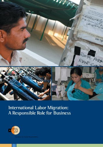 International Labor Migration: A Responsible Role for ... - LARRGE
