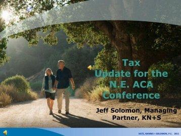 Angels Taxes - Angel Capital Association