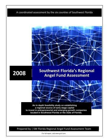 2008 Southwest Florida's Regional Angel Fund Assessment