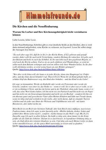 Originaltexten - Himmelsfreunde.de