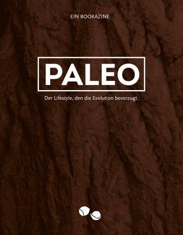 PALEO – Der Lifestyle, den die Evolution bevorzugt.