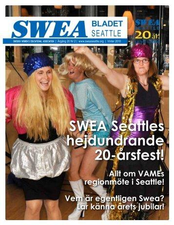 SWEA Seattles hejdundrande 20-Ã¥rsfest!