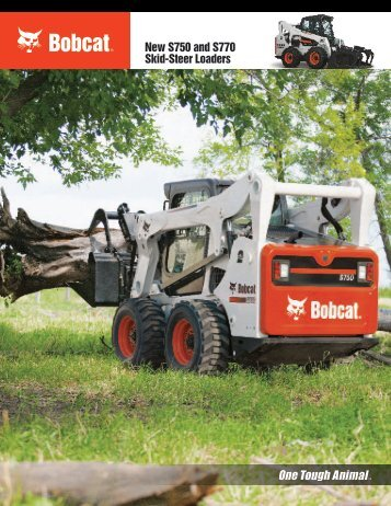 New S750 And S770 Skid-Steer Loaders - Doosan BobCat Chile